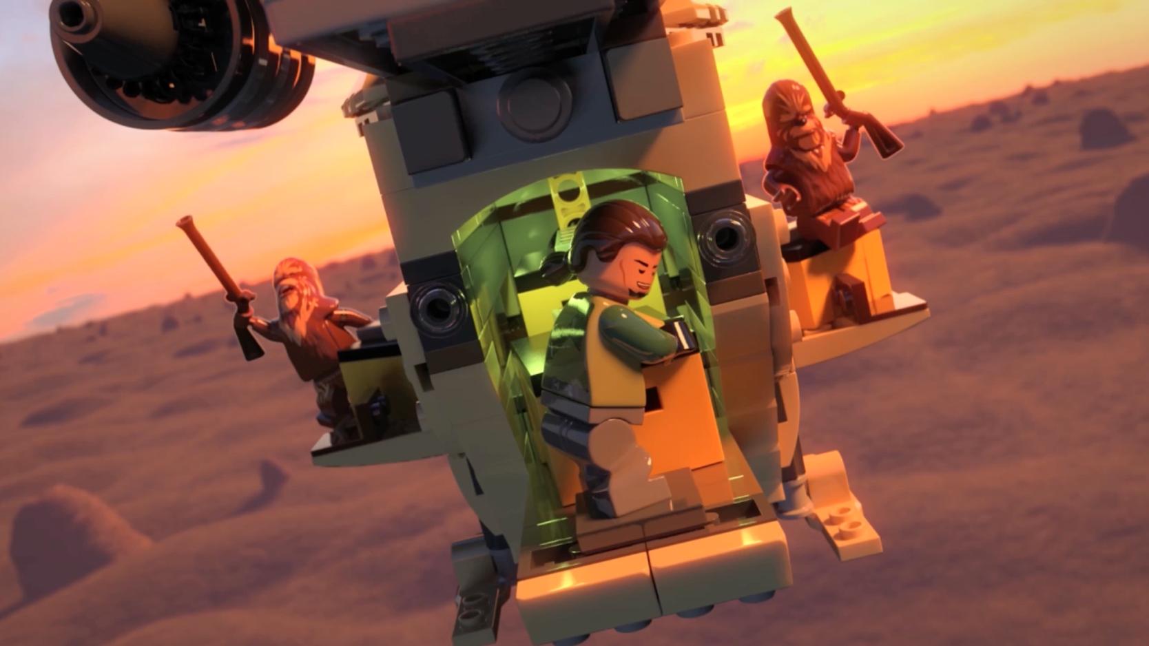 Lego Star Wars – Mini movie 2015 - Episódio 10: Injustiça Rebelde