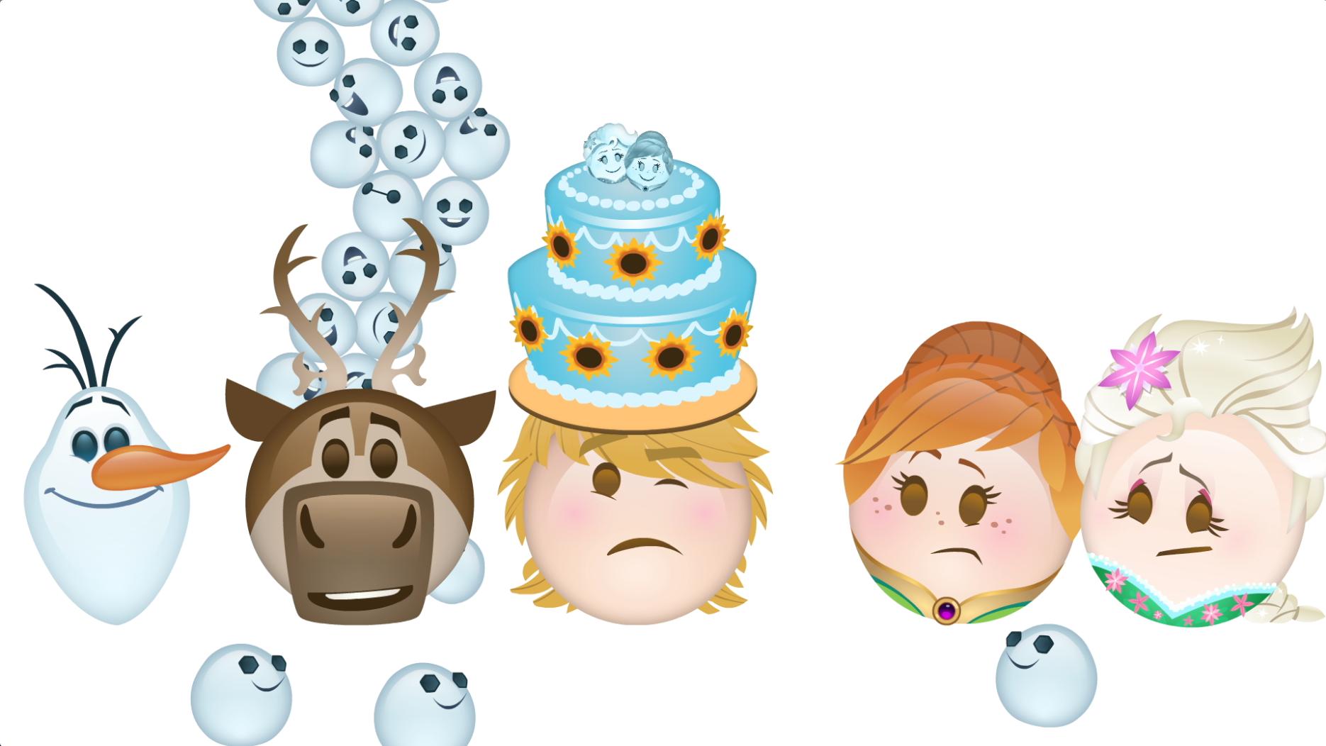 FROZEN: FIEBRE CONGELADA contado por Emoji | Oh My Disney