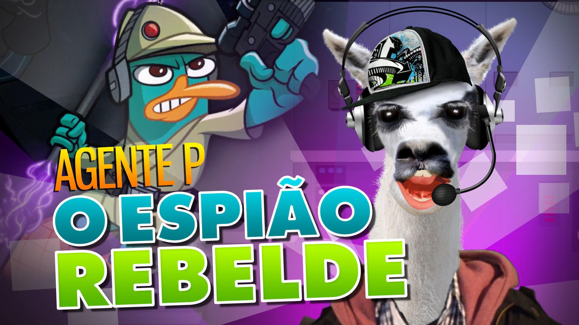 #PlaySteve - Agente P.: O Espião Rebelde