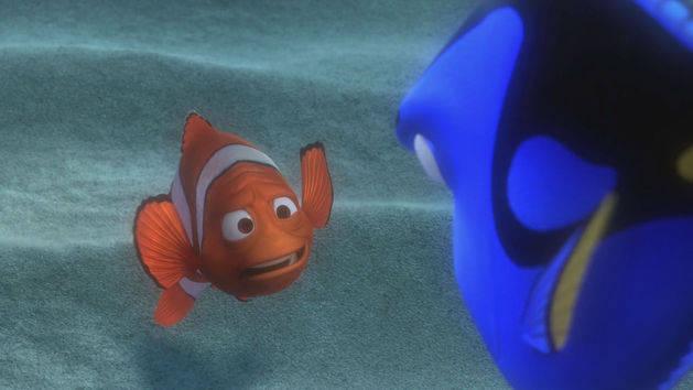 Amnésia de curto prazo - Procurando Nemo