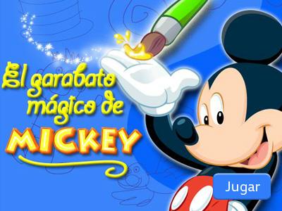 El garabato mágico de Mickey