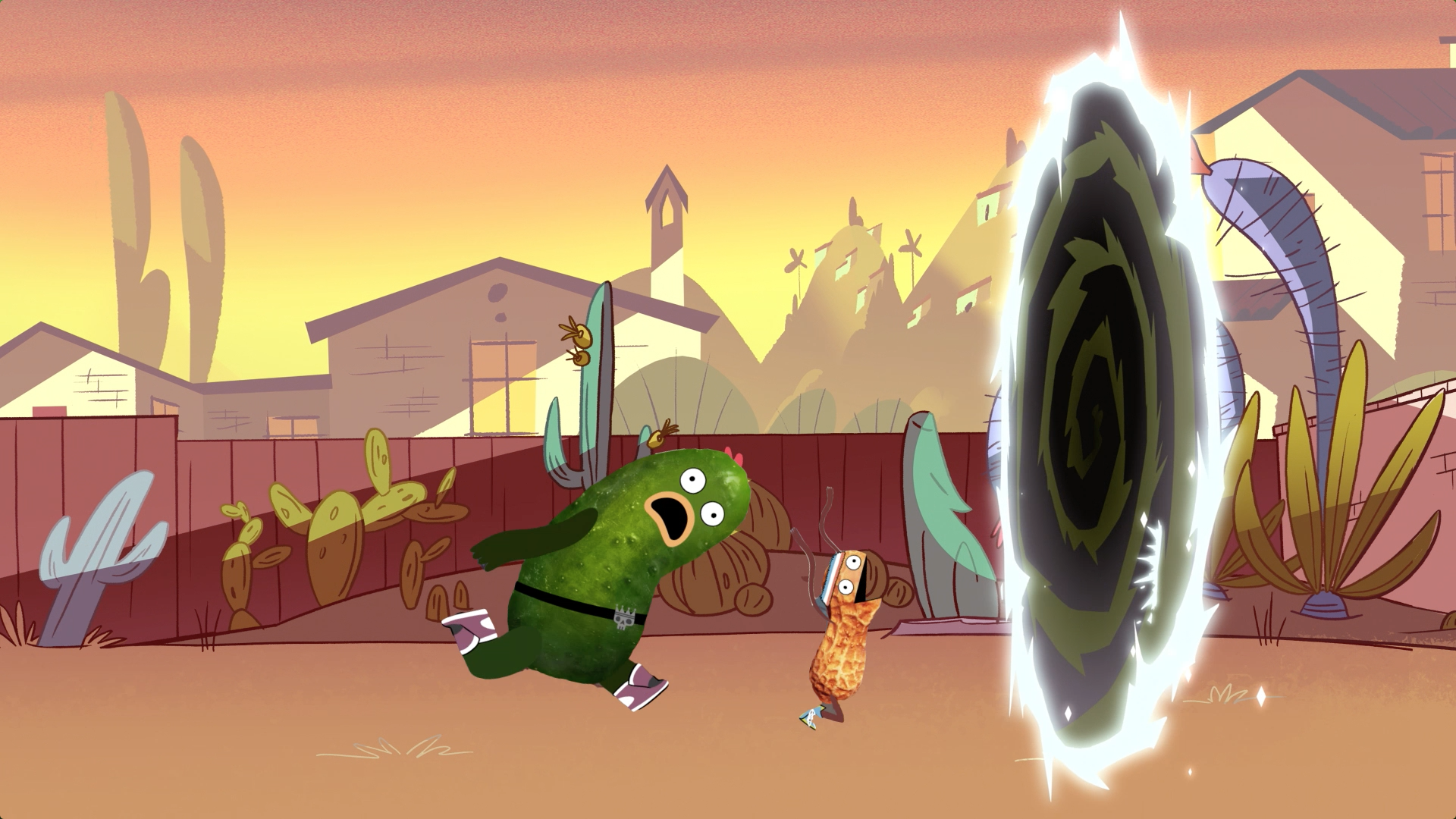 Picles e Amendoim participam de Star vs. As Forças do Mal