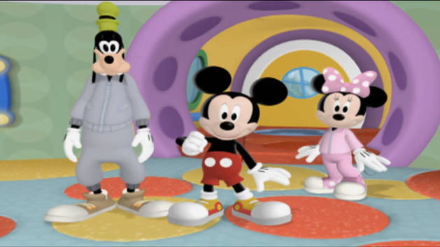 Mickey dice - Mousekejercicios