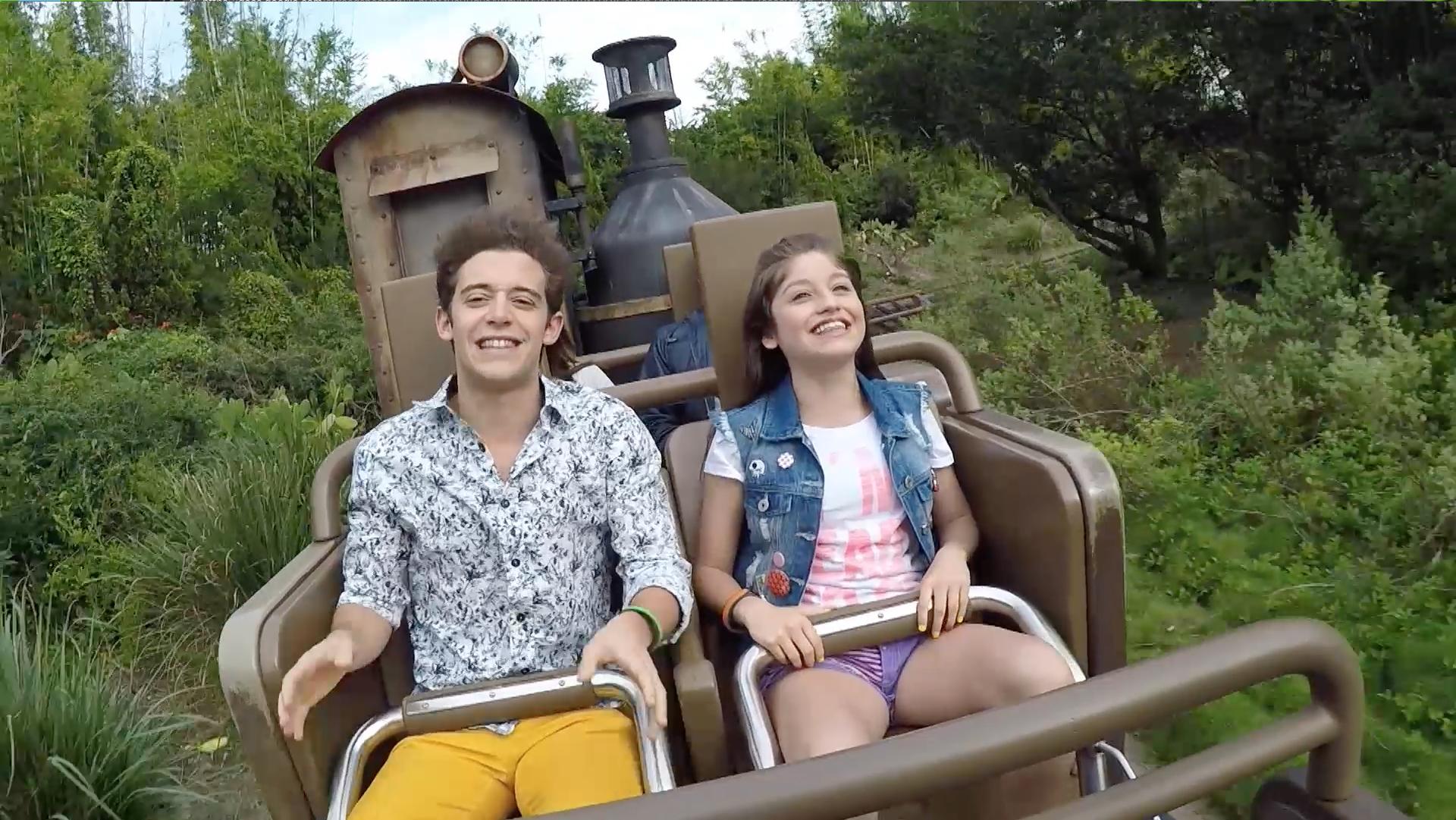 Karol e Ruggero no Walt Disney World Resort