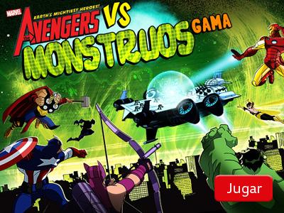 Avengers Vs. monstruos gamma