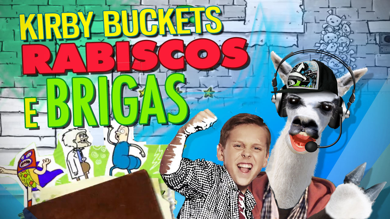 #PlaySteve – Kirby Buckets: Rabisco e Briga