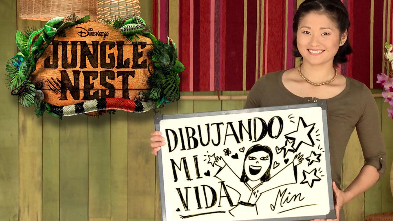 Dibujando mi vida: Min de Jungle Nest