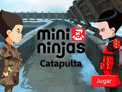 Mini Ninjas - Catapulta