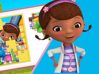Quebra-cabeças da Doutora Brinquedos