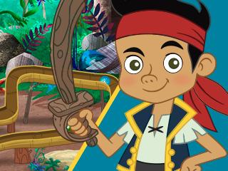 A pista pirata de bolas de gude do Jake