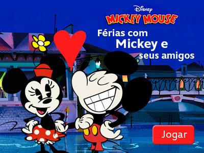Férias com Mickey e seus amigos