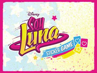 Soy Luna Stickergame