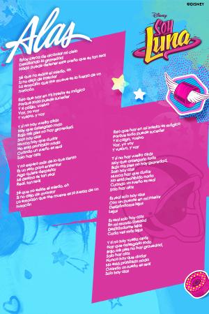 Soy Luna - Alas Lyric