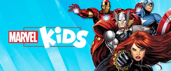 Visita el sitio de Marvel Kids