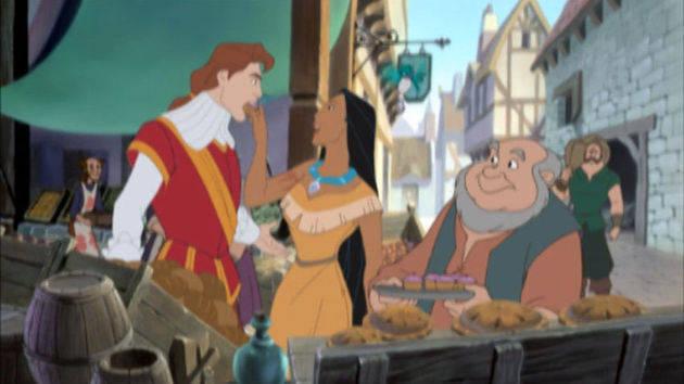 Un gran día en Londres - Pocahontas II