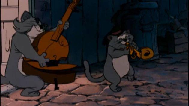 Todos quieren ya ser gato jazz - Los Aristogatos
