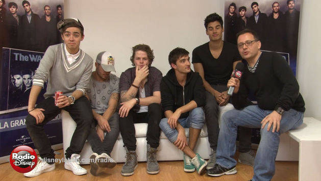 The Wanted - Entrevista - Radio Disney