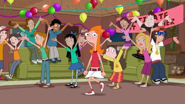 Videoclipe: Festa da Candace - Phineas e Ferb
