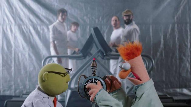 Los Muppets y OK GO
