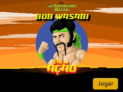 Bob Wasabi em ação!!