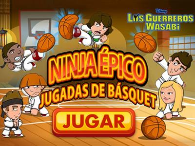 Ninja épico: Jugadas de básquet