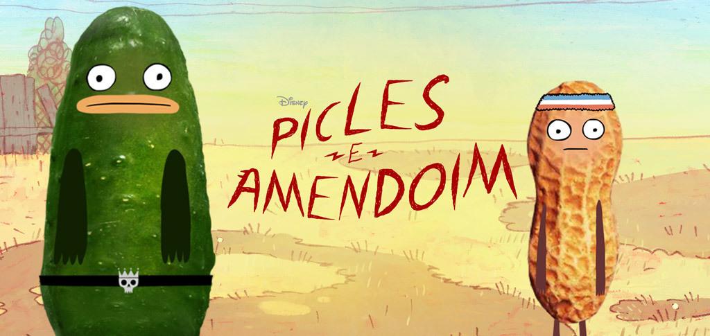 Picles e Amendoim Show Hero (Blank)