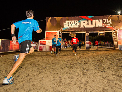 ¡La Fuerza venció en la Star Wars Run Night Edition!