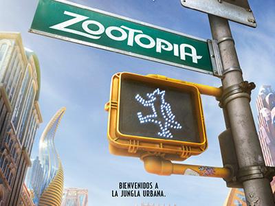 Se revela el primer poster de Zootopia. ¡Descúbrelo!